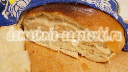 Как приготовить пшеничный хлеб в духовке
