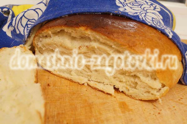 Рецепт хлеба в домашних условиях в духовке с сухими дрожжами