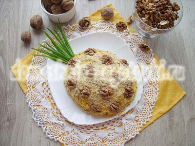 рецепт салата ананас