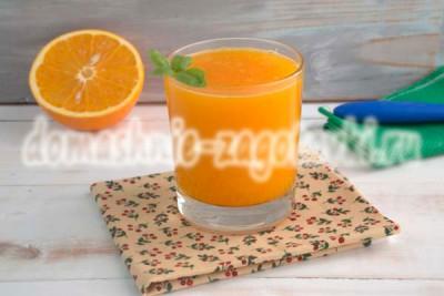 сок с тыквой и апельсином