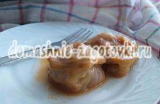 Голубцы из молодой капусты, вкусно и полезно