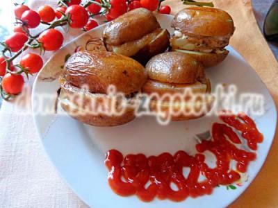 картофель с грудинкой рецепт с фото