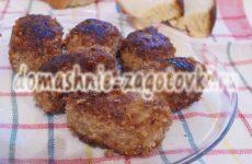 Рецепт котлет из фарша говядины и свинины с маслом внутри