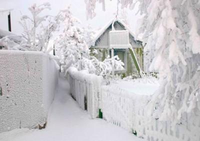 Крещенский снег