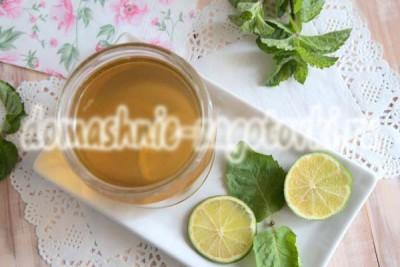 мятное варенье рецепт с фото