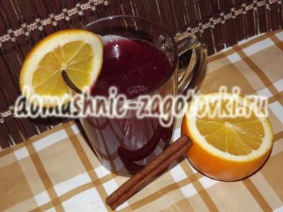 глинтвейн на вишневом соке