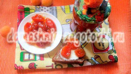 Как заготовить варенье из абрикосов дольками на зиму