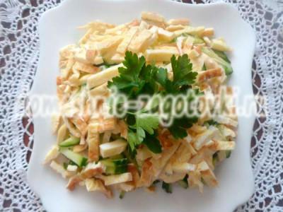 украсить салат идиллия