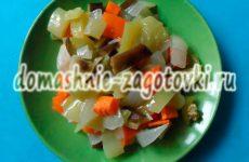Аппетитный салат из запеченных овощей