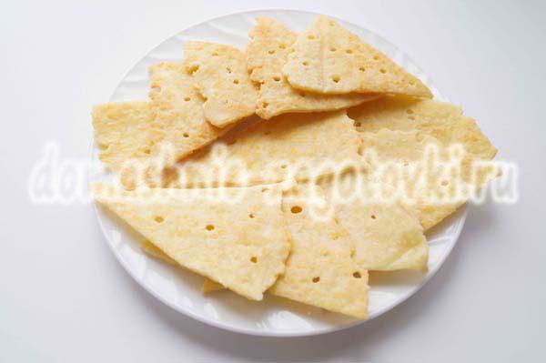 Крекеры с сыром в домашних условиях