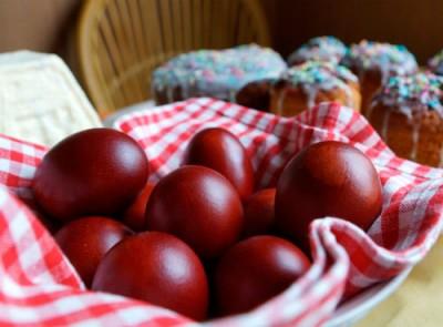 традиция красить яйца