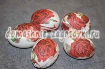 готовый яйца