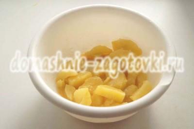 дольки картофеля