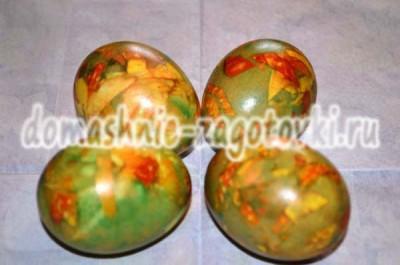 готовые мраморные яйца