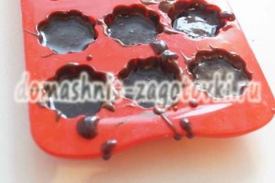 конфеты в формочах