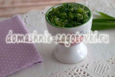 рецепт соуса из черемши
