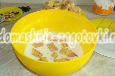 бисквит в сметане