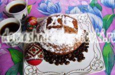 Кофейный кулич на Пасху, оригинально и очень вкусно