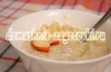Овсяная каша на молоке, сытный и питательный завтрак для детей и взрослых