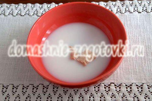молоко с дрожжами
