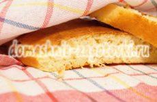 Домашний хлеб на сухих дрожжах и яйцах в духовке