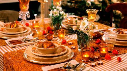 Что должно быть на столе на Новый год 2017: сервировка, блюда