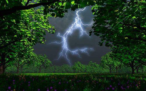 гром и молнии