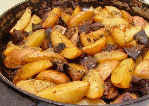 дуньки с картошкой