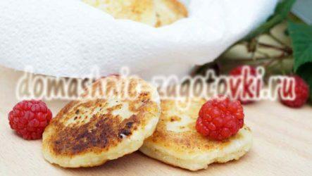 Румяные сырники без манки