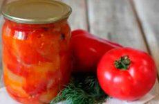 Лечо из помидор, заготавливаем на зиму вкусную закуску