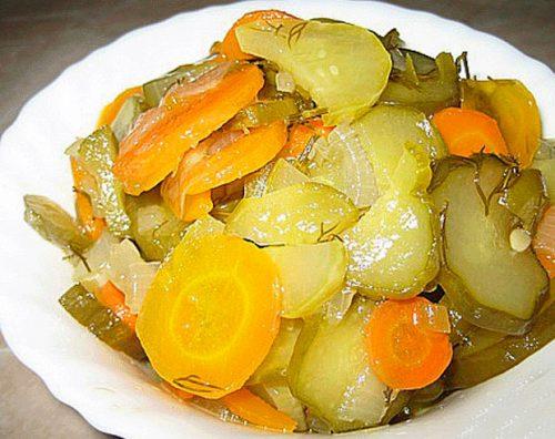 салат из заготовки