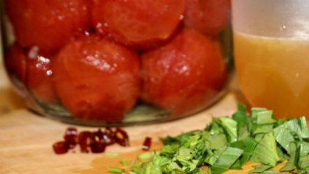 Как заготовить помидоры без кожуры на зиму