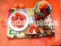 Миниатюра к статье Как заготовить варенье из абрикосов дольками на зиму