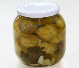 Миниатюра к статье Маринованные артишоки в оливковом масле