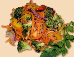 брокколи по-корейски рецепт
