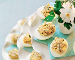 Миниатюра к статье Яйца, фаршированные печенью трески