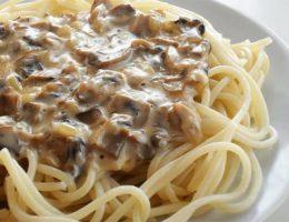 грибной соус для спагетти рецепт