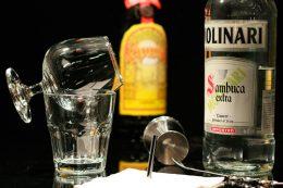 как пить самбуку