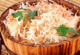Миниатюра к статье Горячий способ засолки капусты: отличная закуска