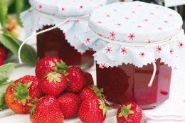 Миниатюра к статье Как приготовить клубничный конфитюр