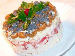 Миниатюра к статье Как приготовить салат: Курица под кайфом