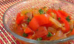 лечо с морковью и луком рецепт