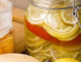 как замариновать лимоны