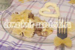Миниатюра к статье Как приготовить макароны с мясом и сыром