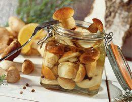 маринованные белые грибы рецепт