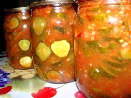 огурцы в томатном соусе рецепт