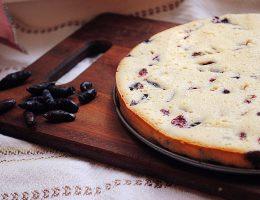 пирог с жимолостью рецепт