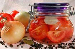 Миниатюра к статье Заготавливаем помидоры дольками на зиму