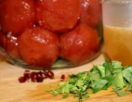помидоры без кожицы на зиму