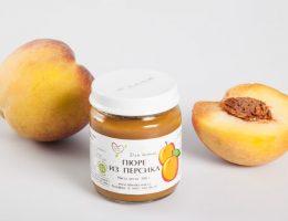 пюре из персика
